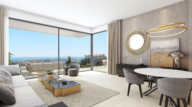New development with sea views