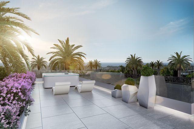 Modern beach side villas nearby Puerto Banus