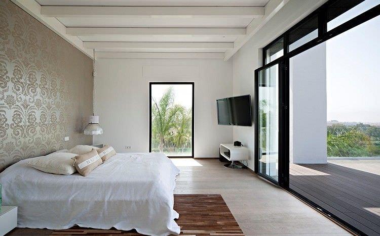 **Modern villa with  golf and sea views