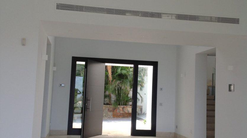 Brand new villa with stunning sea views