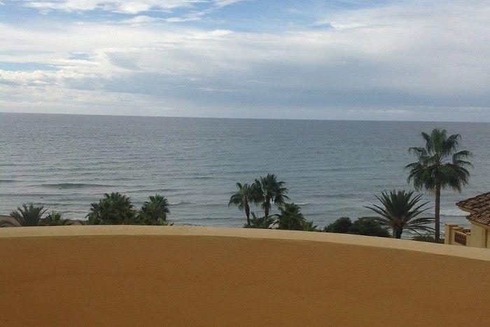 Beach front penthouse