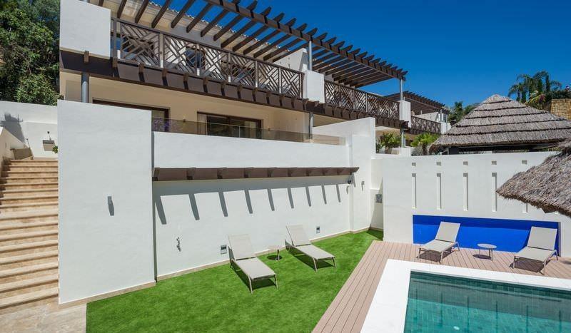 Brand new semi-detached villas in the heart of Marbella