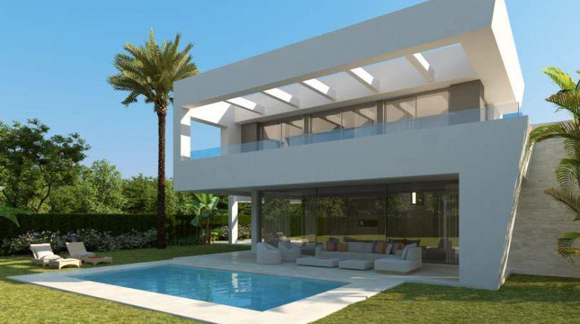 Brand new villas with open sea views