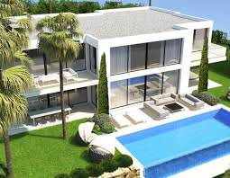 Brand-new villa with stunning sea views