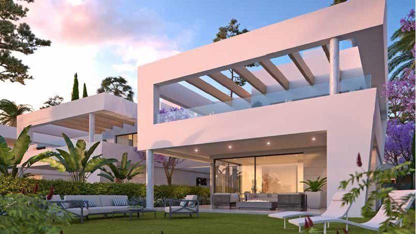 Brand new luxury beach side villas