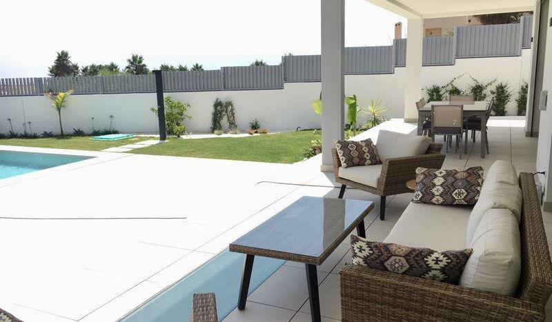 Stunning  villa with panoramic sea views