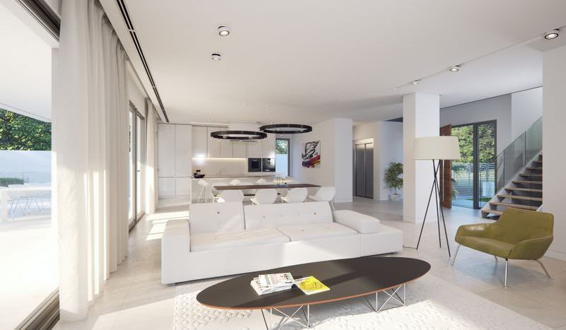 Project of 3 villas nearby Puerto Banus