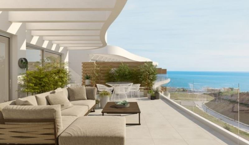 Stunning project of modern apartments with sea views