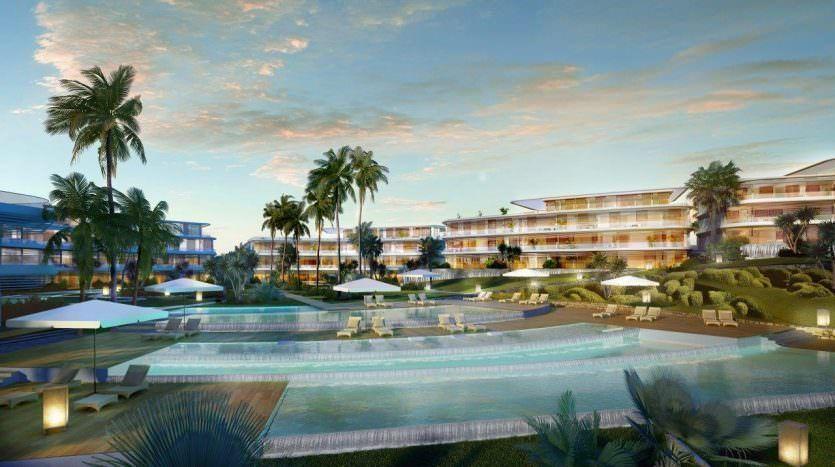 Stunning beachfront, new development