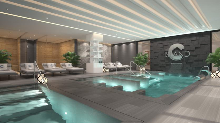 Beachfront exclusive modern townhouses