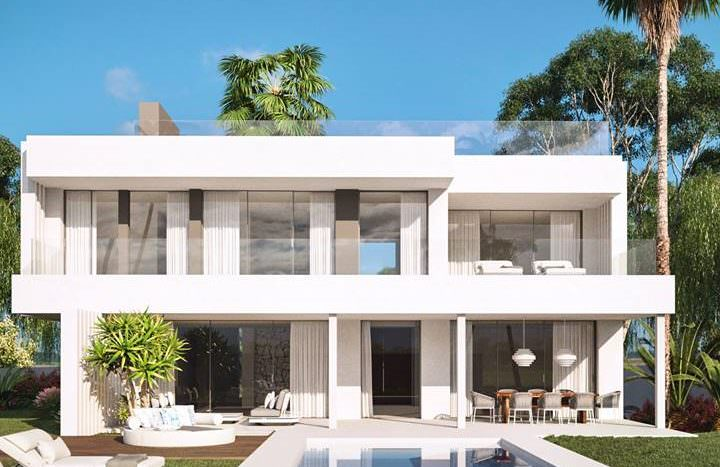 7 modern villa with sea views