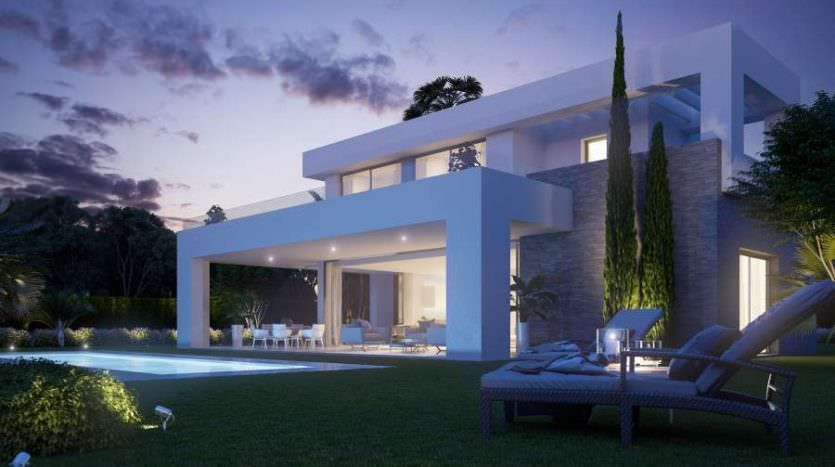 Stunning project with modern villas