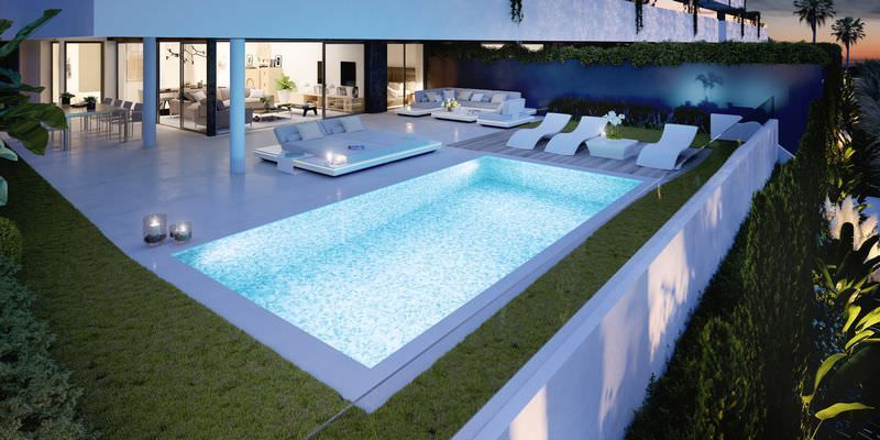 Stunning project with 2-3 bedroom apartments