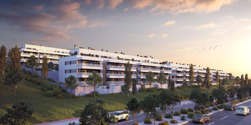 Beachside project with apartments offering sea views