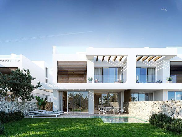 Luxury semi-detached villas with stunning sea views