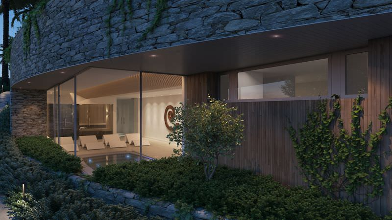 Stunning project with sea views