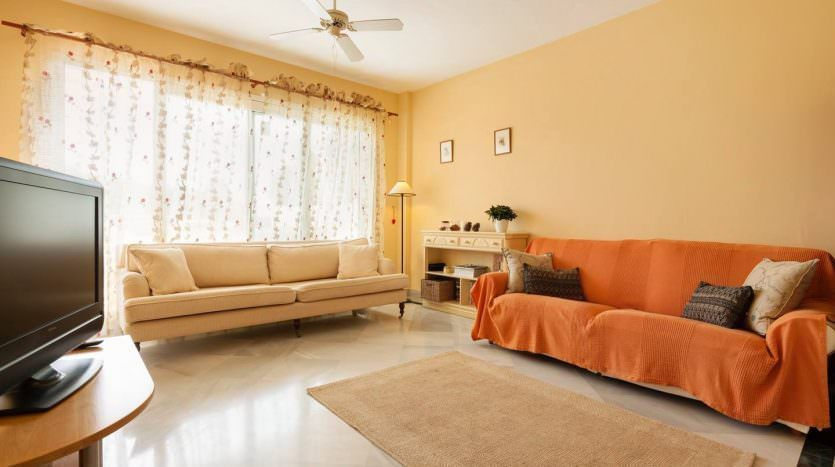 Bright south faced apartment. Great location.