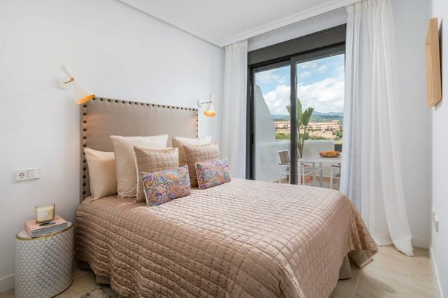 Bright apartments in the golf valley