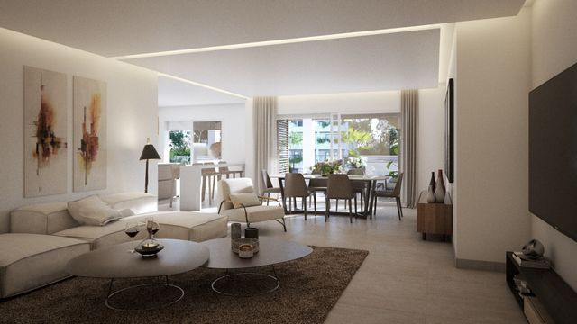 Modern and new apartments and attics in Golden Mile