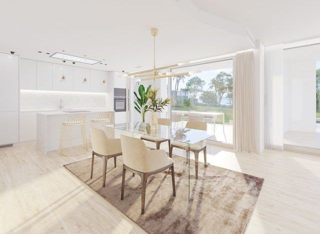New project  with modern villas and apartments in East Marbella