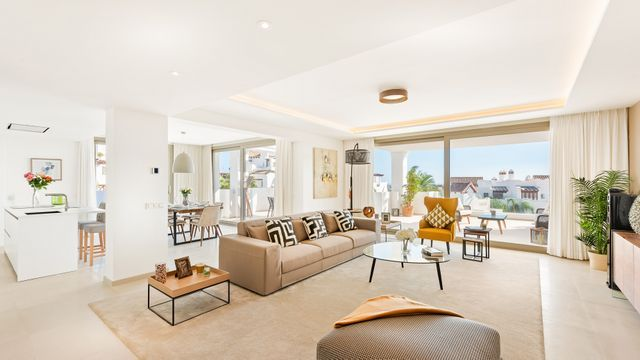 Stunning development with 2-4 bedroom apartments and attics