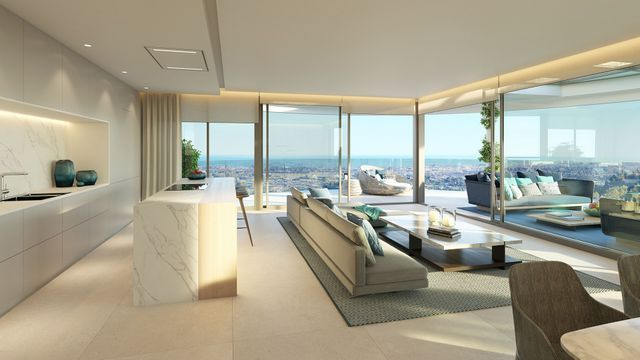 Incredible project of modern homes with sea views