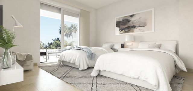 New development of modern apartments