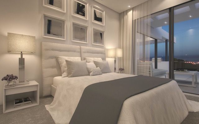 Magnificent development with panoramic sea views