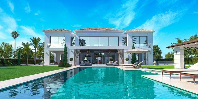 Beachside modern villa
