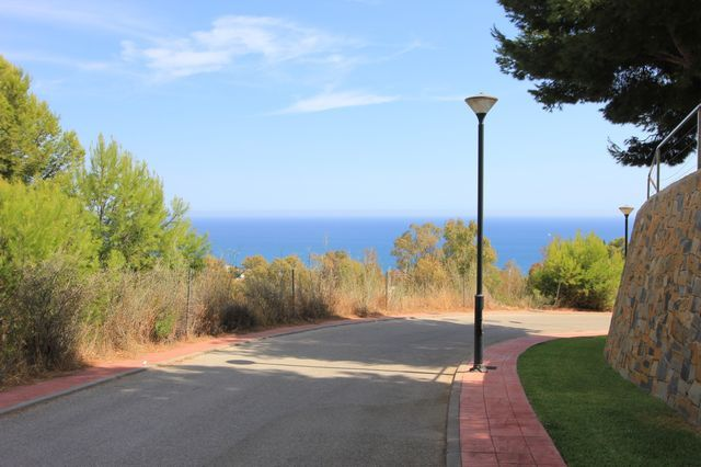 Big plots with sea views
