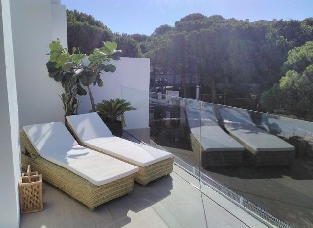 Exclusive 40 garden semi-detached villas with sea and nature views in Benalmadena Coast