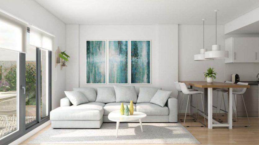 New development with apartments in Benalmádena Costa
