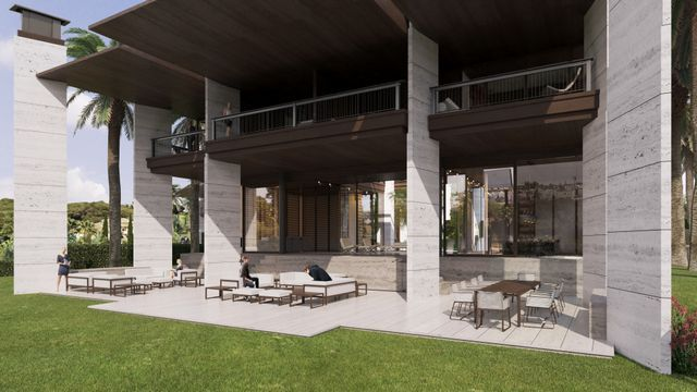 An elegant residential project with luxurious villas in Puerto Banus