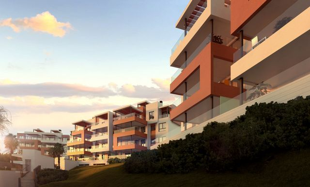 Modern new project of apartments with sea views