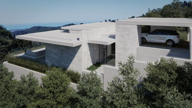 Investment opportunity - Stunning plot with sea views and a modern villa project