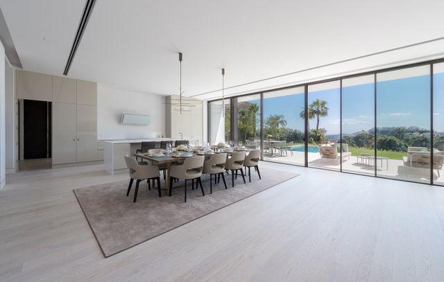 Brand new modern villas with panoramic sea views